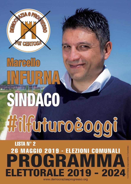manifesto marcello infurna sindaco 2019